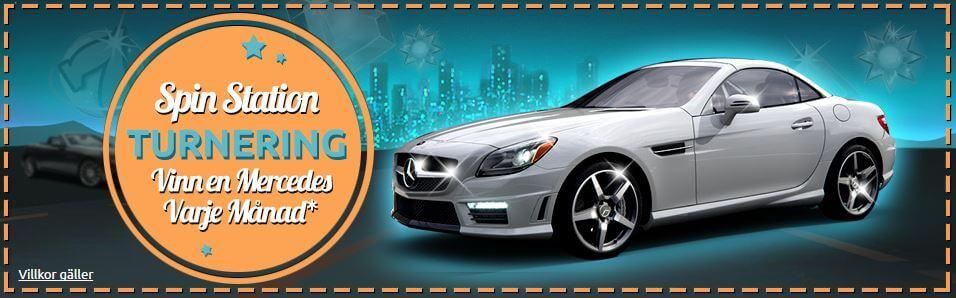 SpinStation kampanj Mercedes