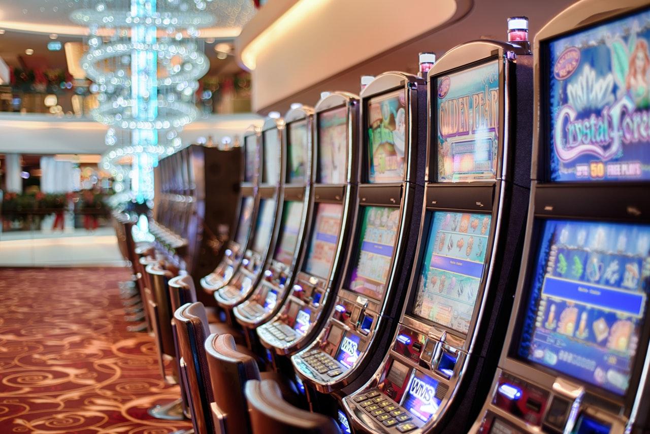 Klassiska spelautomater på rad
